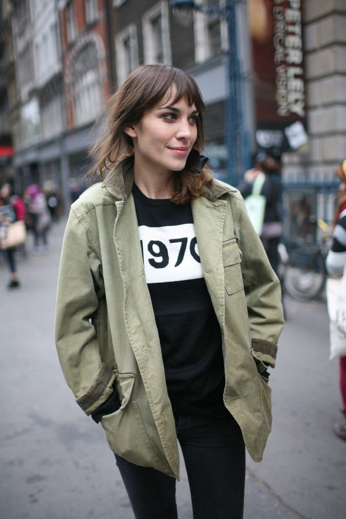 They Are Wearing: London Fashion Week Spring 2013 - Slideshow - WWD.com