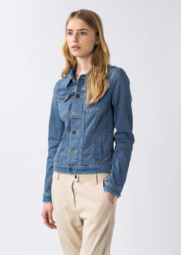 Marc O'Polo, Neu, Damen, Bekleidung, Jeans-Jacke, mit authentischem Style