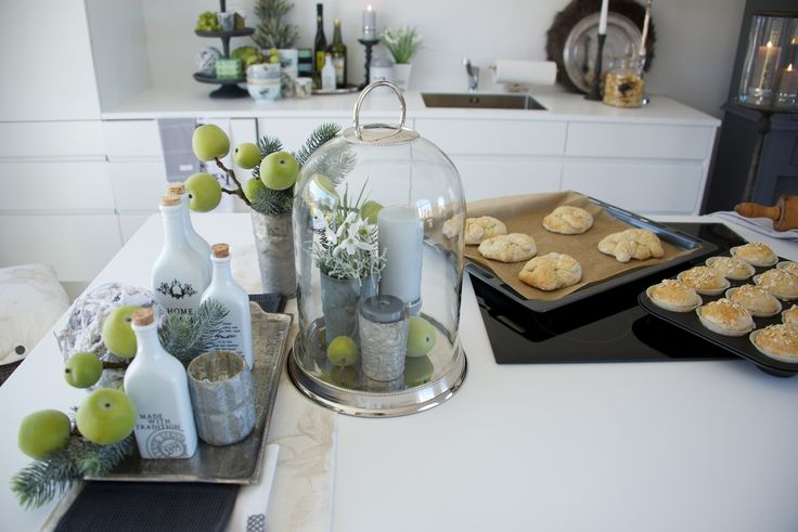 Lene Bjerre – AUTUMN 2013. BELLA glass bell, TRADITION bottles. At Dansk Home Accents
