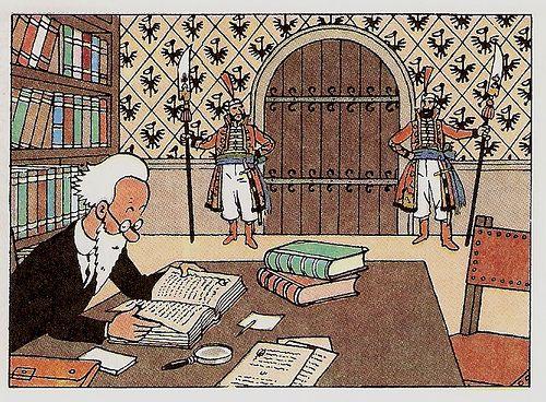'La Imagen de la Coordinadora de Biblioteca by iesluisvelez, via Flickr' king ottokars sceptre • Tintin, Herge j'aime