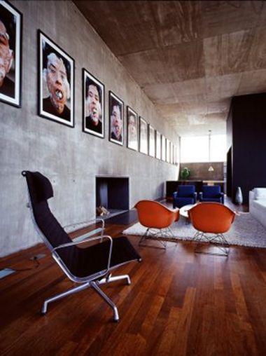 industrieel interieur woonkamer
