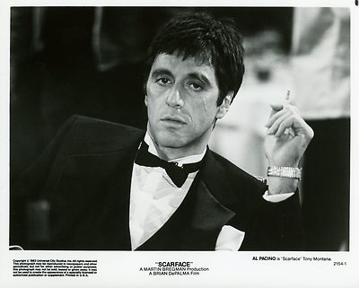 AL PACINO SCARFACE 1983