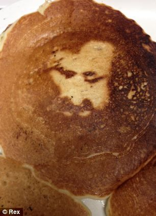 Rostro De Jesús Aparece En Pancake El Pasado Viernes Santo En California #Foto
