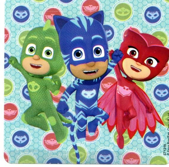 Pj Masks Stickers Envelope Seals Party Favors Reward Charts