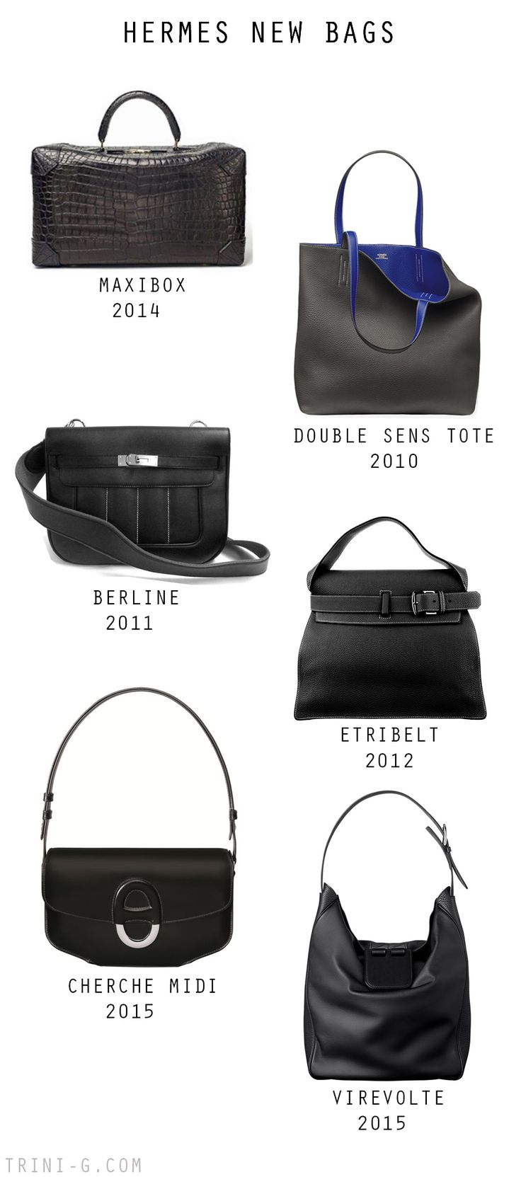 Trini blog | Hermes new bags