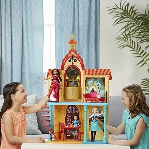ICYMI: Girls Dollhouse Large Castle Playset Pretend Play Furniture Kids Doll House Toy