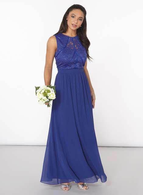 Showcase Cobalt Eva Maxi Dress. See more at http://www.weddingheart