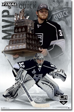 2012 Stanley Cup - MVP (Jonathan Quick) Poster