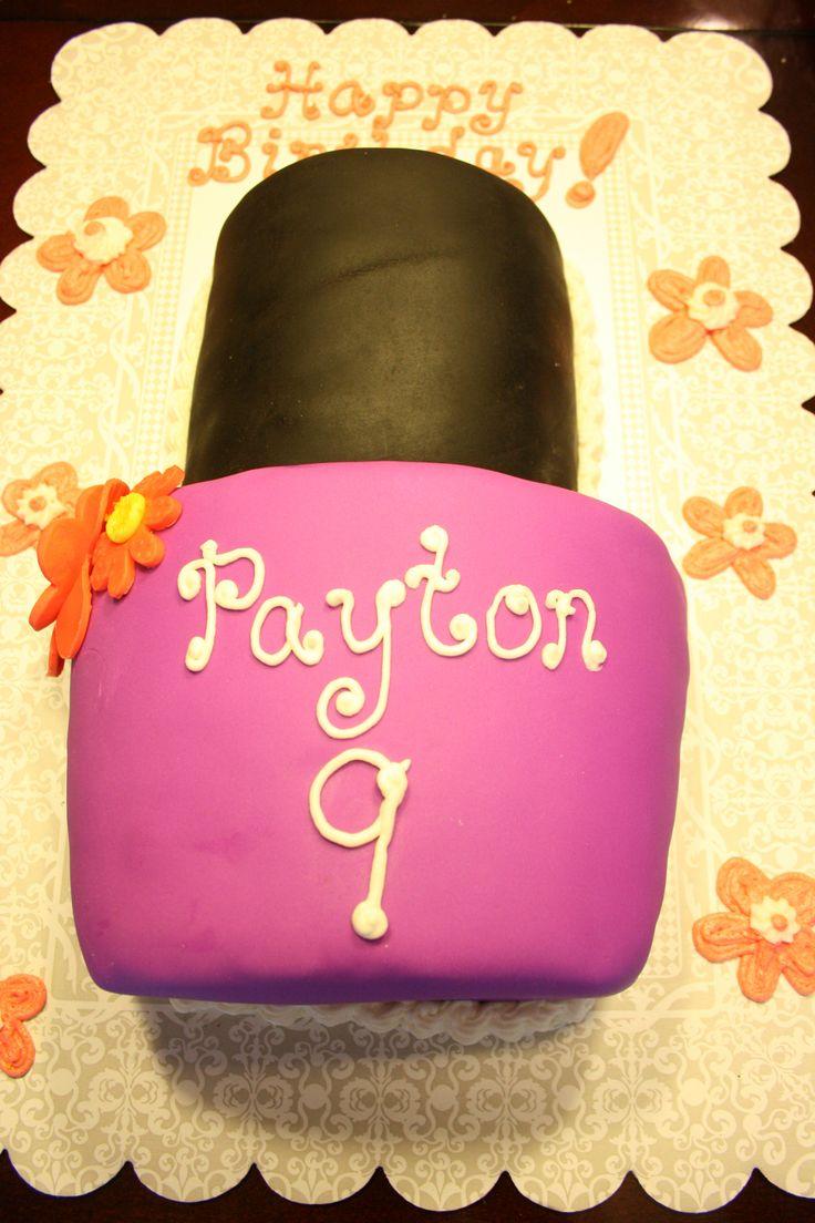 nail polish cupcakes &