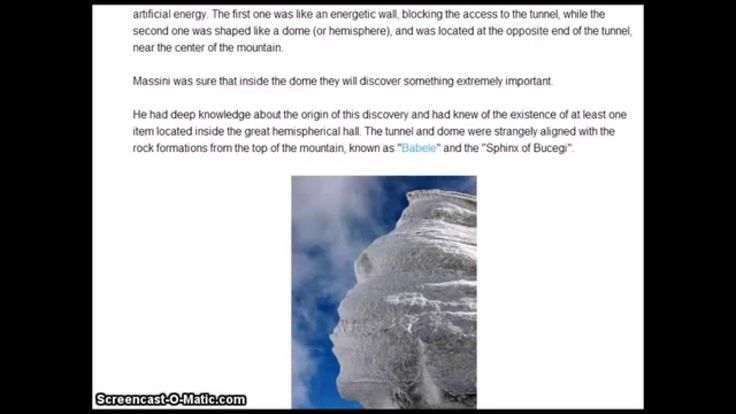 Mystery of Bucegi Mountains
