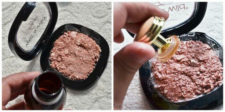 Gebroken make-up maken |