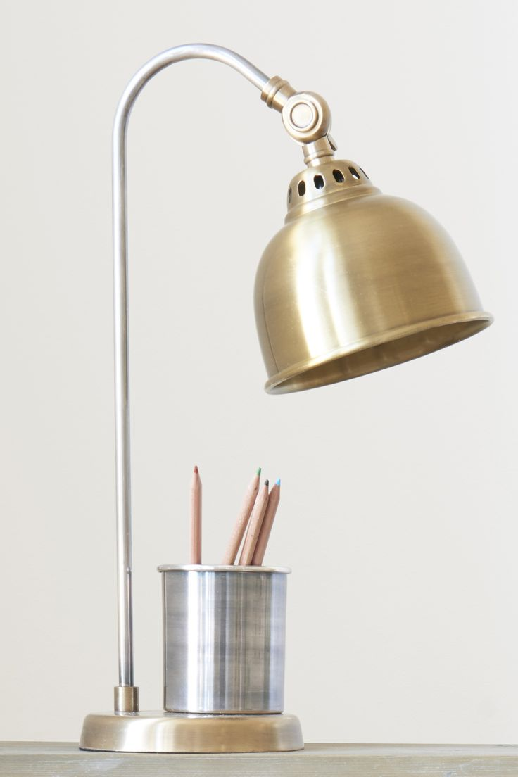 How do you make our best-selling lamp really clever? Stick a pen pot on it and switch it on.
