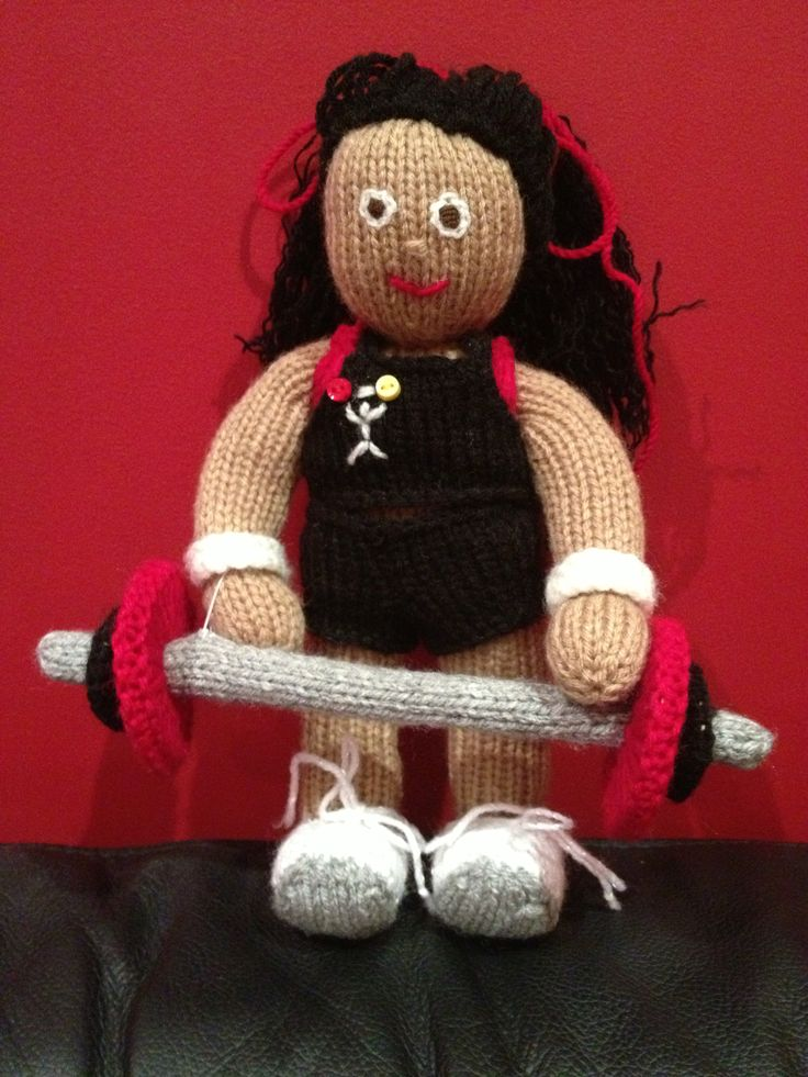 Group power instructor doll for Riz