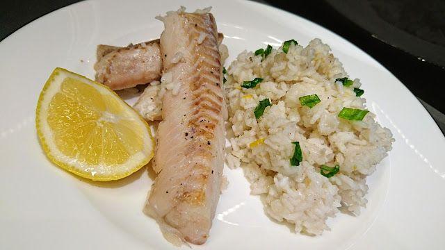 Kuchenne potyczki Alergiczki: Delikatny dorsz z cytrynowo-maślanym ryżem