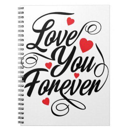 Beautiful Love Heart Quote Journal | Zazzle.com