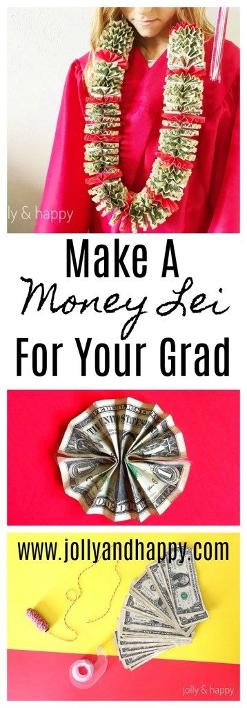 Earn a money lei for graduation