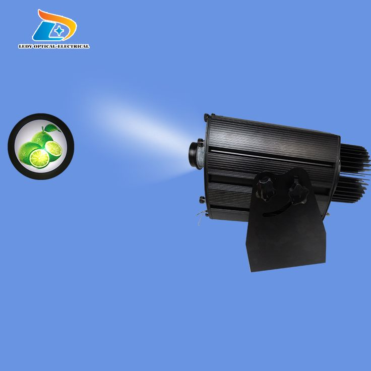 Luxury Factory Professional Powerful Images Change in Turn Large Size W LED Logo Light Projector Indoor