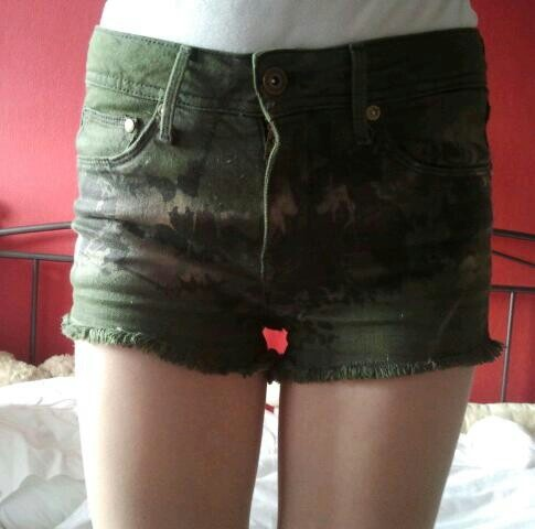 mijn legerprint short <3