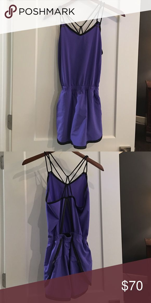 Lululemon dress with tight shorts under Great condition lululemon athletica Dresses