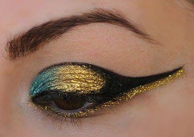 Millan meikkipaletti: Kleopatra meikki / Cleopatra makeup