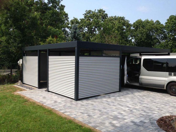 Design Metall Carport Aus Stahl Blech Individuell Salzburg