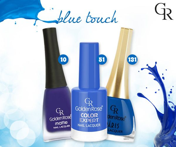 Hayatı mavi yaşıyorsan, mavinin her tonu Golden Rose ile seninle! http://www.goldenrosestore.com.tr/