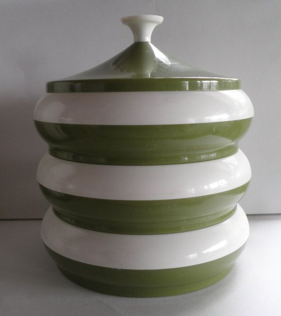 Avocado Green Kitchen Canister