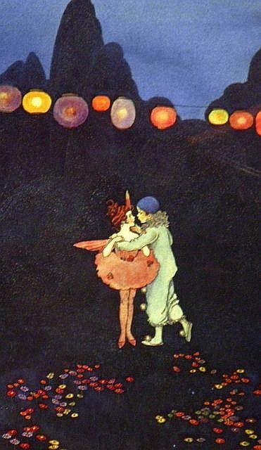 IDA RENTOUL OUTHWAITE (1888 - 1960), Decorative Offset Lithograph