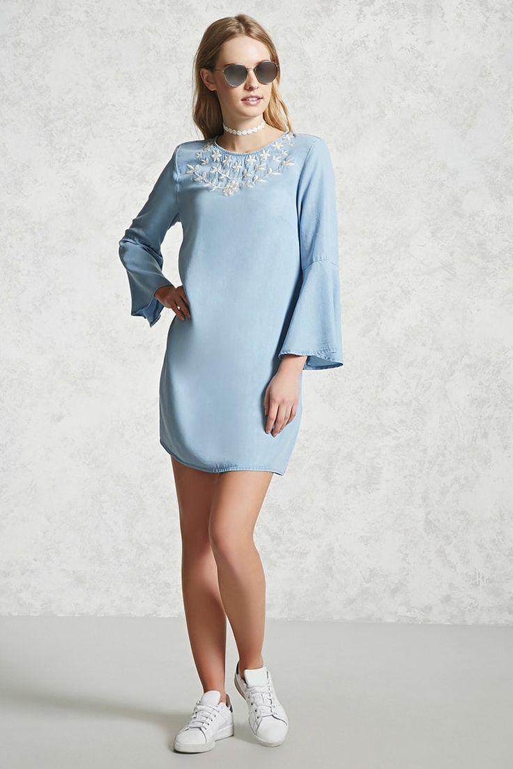 Contemporary Chambray Dress