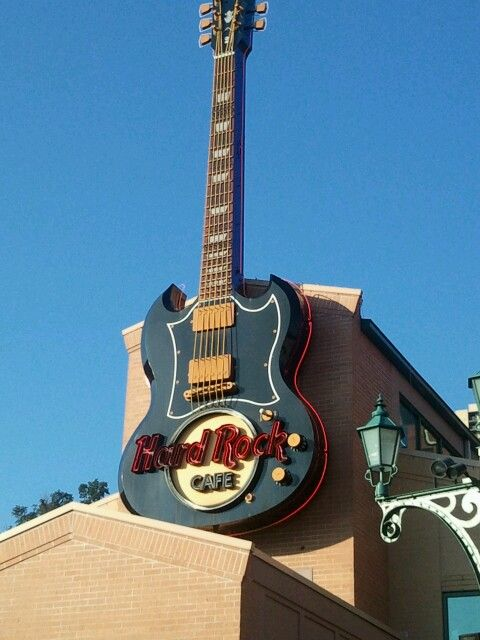 Hard Rock Cafe In Pittsburgh Pennsylvania