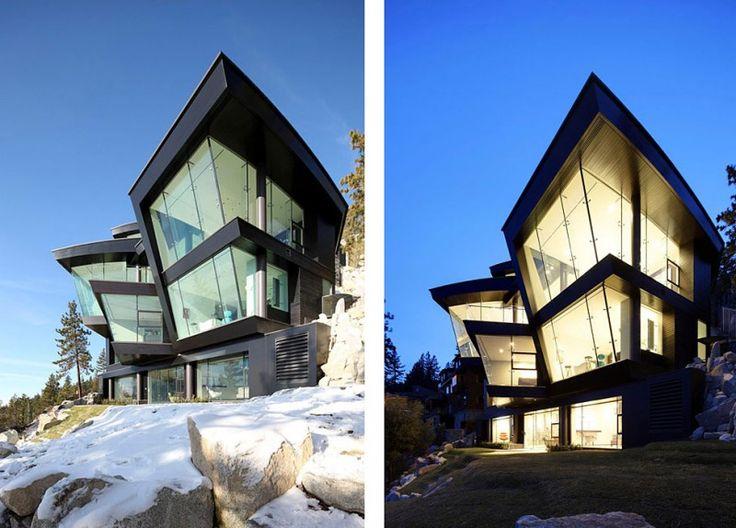 Mark Dziewulski Architect in Incline Village, NV: Lake Houses, Dziewulski Architects, Lakes Tahoe, The Lakes House, Architecture, Mark Dziewulski, The Lake House, Design, Lake Tahoe
