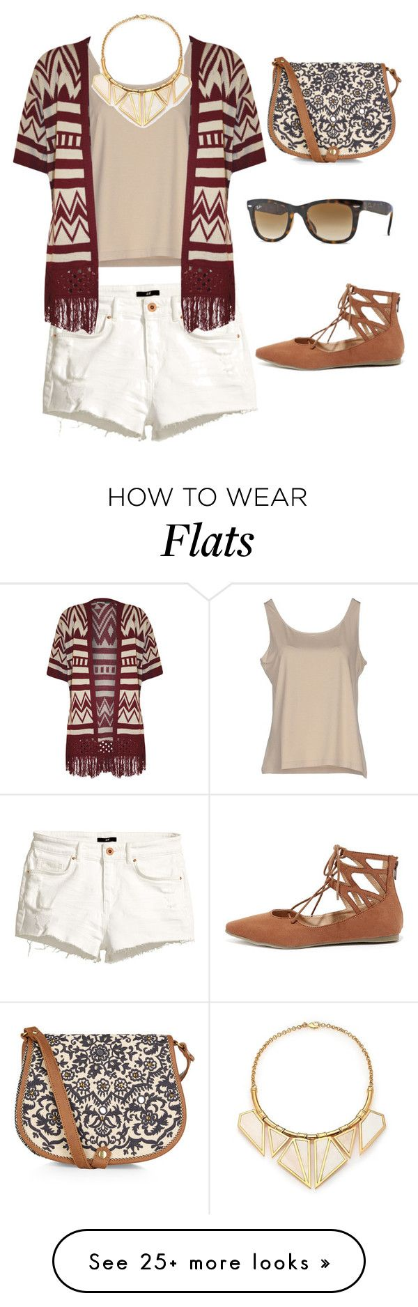 """Untitled #573"" by krissybob on Polyvore featuring H&M, D.Exterior, WearAll, Ray-Ban, Liliana, A Peace Treaty and Accessorize"