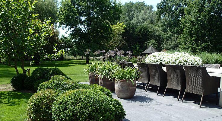 Particuliere tuin aan de oude Rijn - Foto 1