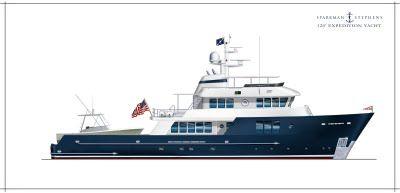 Sparkman & Stephens: Preliminary Design - 120' Expedition Yacht