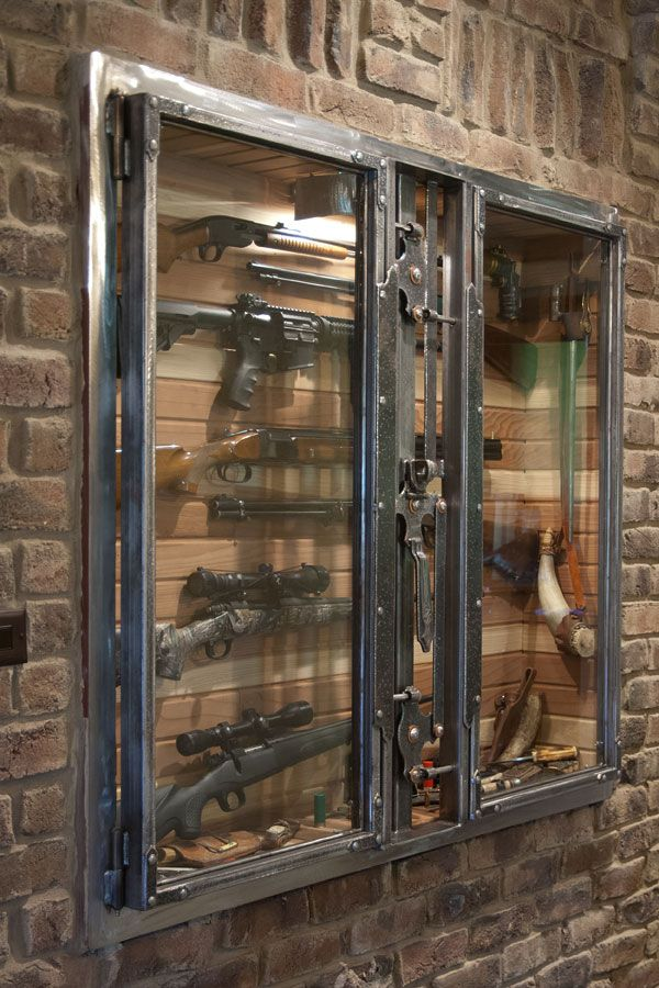 Gun Cabinet by Paul Silva
