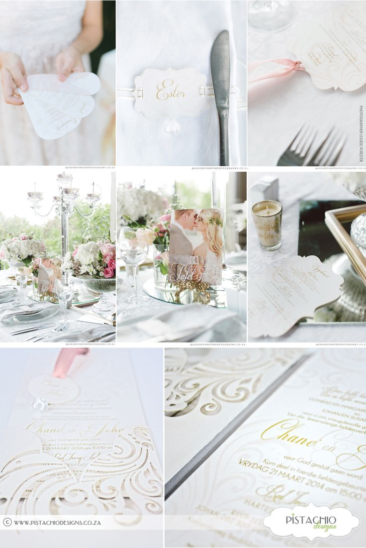 Actual wedding-Stationery by Pistachio Designs