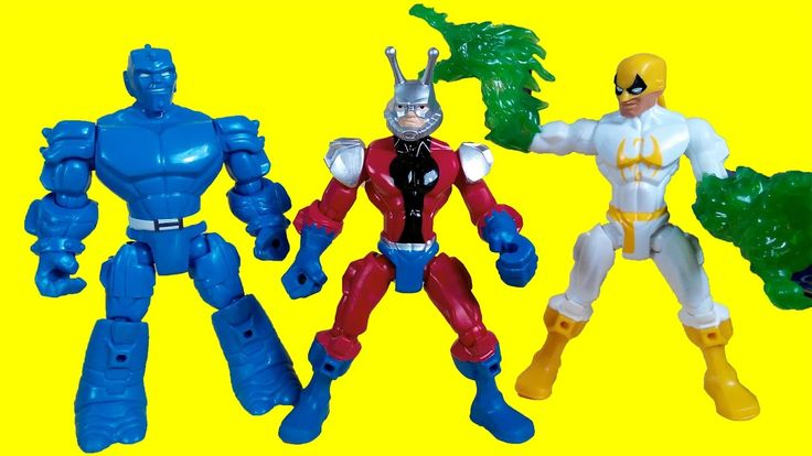 Marvel super heroes mashers - Marvel Iron Fist, A Bomb, Ant Man, Hasbro ...