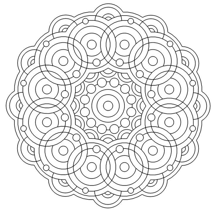 620 Best Mandala Images On Pinterest