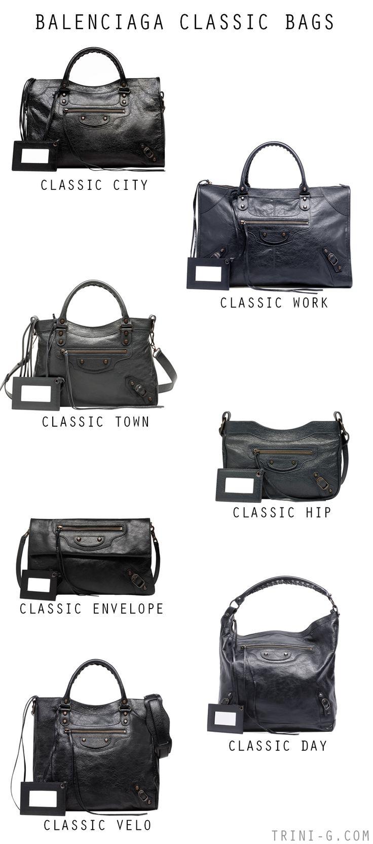 Trini blog | Balenciaga classic bags