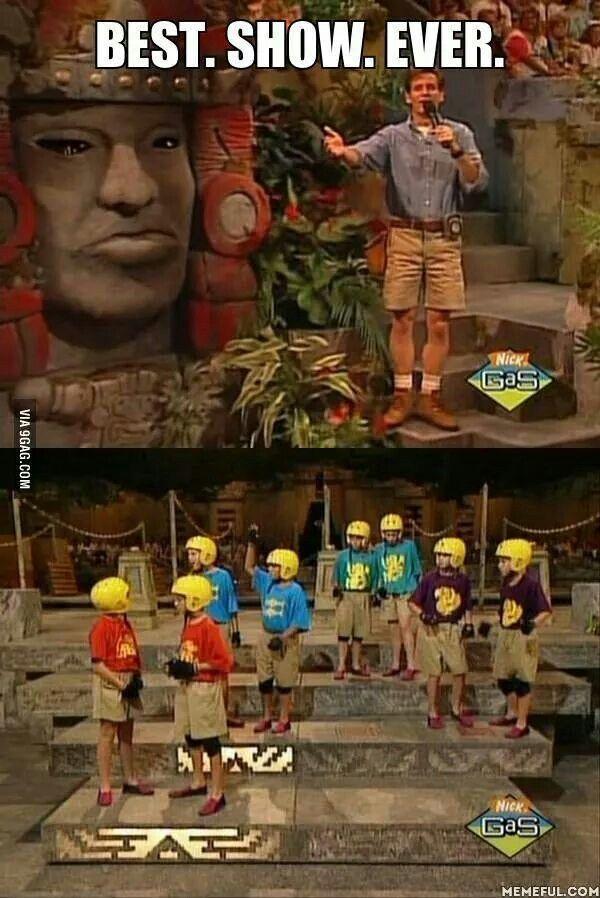 Best. Show. Ever. Legends of the Hidden Temple.