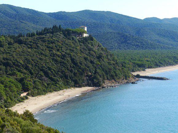 Cala Civette beach in Maremma Tuscany Italy