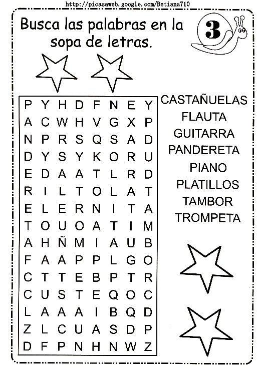 160 best images about sopa de letras on pinterest word - Sopa de letras de navidad ...