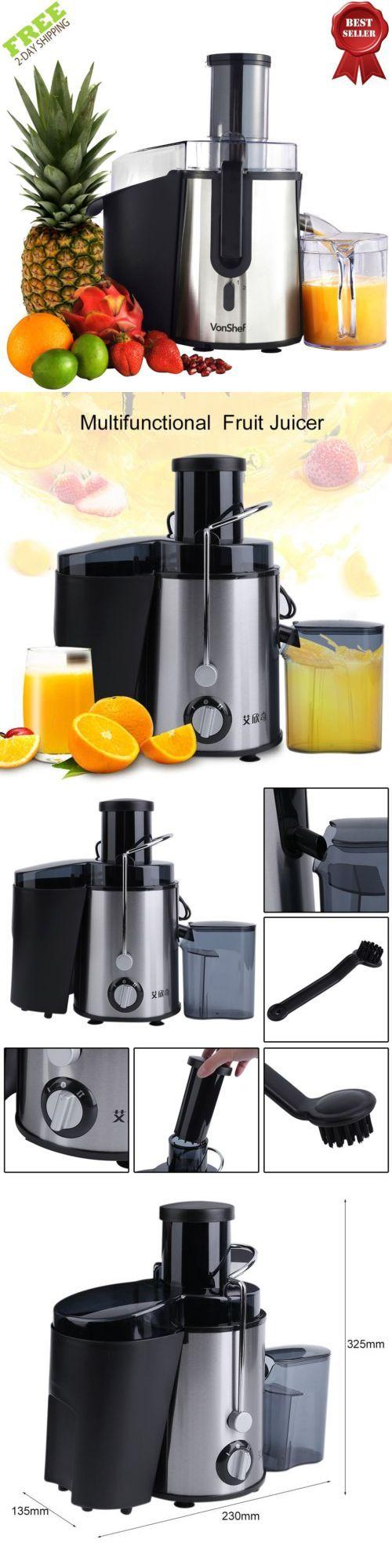 Juicers 20677: Electric Fruit Juicer Vegetable Juice Citrus Extractor Machine Maker Blender New -> BUY IT NOW ONLY: $33.84 on eBay!