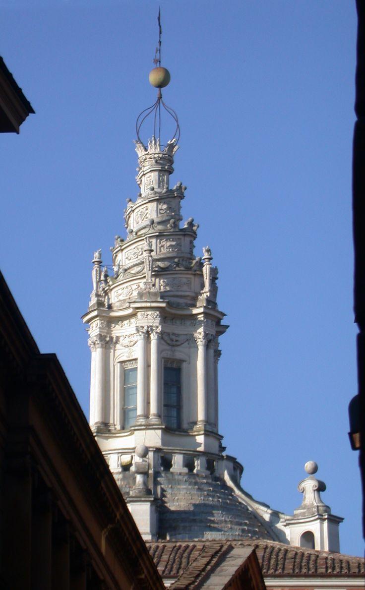 Francesco borromini detail of dome exterior s ivo della for Define baroque style