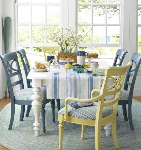 99 best images about dining tables chairs chalk paint for Paint dining room table ideas