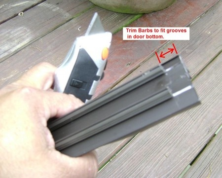 Replacing The Door Sweeper Diy Home Fix Its Pinterest