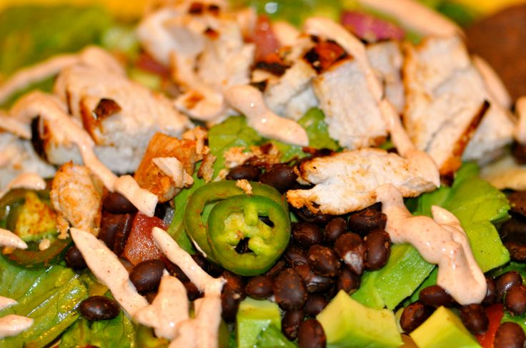 EPIC Taco salad recipe!!!!! with an amazing marinade. https://www.facebook.com/photo.php?fbid=621265157961302&set=a.585424158212069.1073741830.585066831581135&type=1&theater