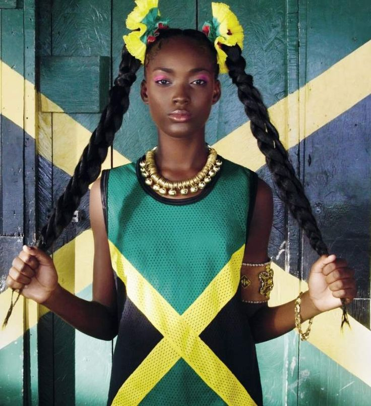 Jamaican Model, Francine James, to be Featured in German Vogue Magazine