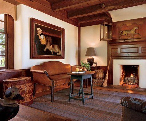 616 Best Primitive Colonial Interiors Images On Pinterest