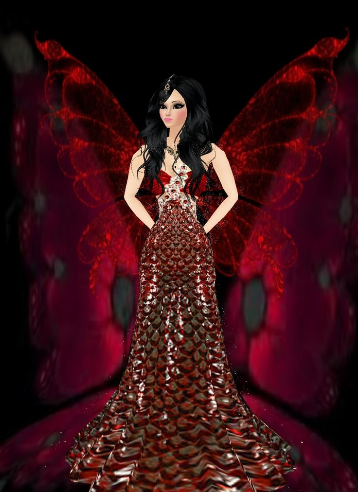 """From a Caterpillar to a Butterfly"" Captured Inside IMVU - Join the Fun!"